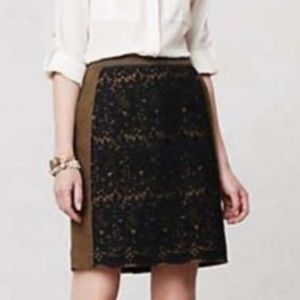 Anthropologie Maeve Rione pencil skirt size 8